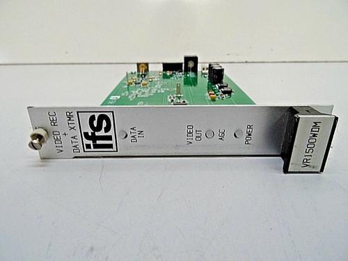 IFS VR1500WDM-R3 Video Transmitter/Data receiver Rack Mount