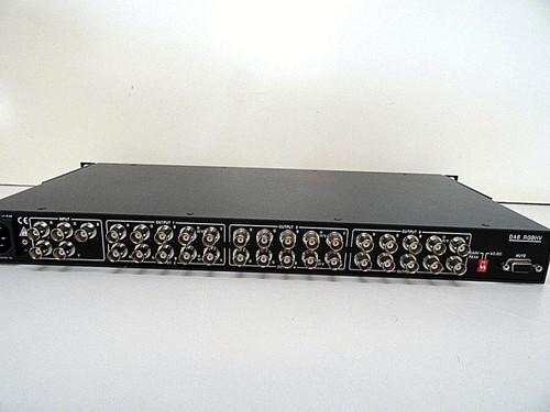 EXTRON DA6 RGBHV DA RGB/YUV Wideband Distribution Amplifier with Rack Ears