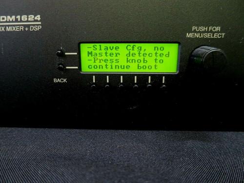 Digital Automatic Matrix Mixer Lectrosonics DM 1624 LetNet2 DSP