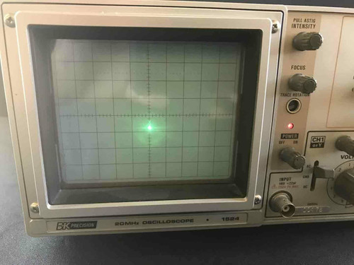 Vintage B + K Precision 1524 Oscilloscope 20 MHz **PARTS ONLY**