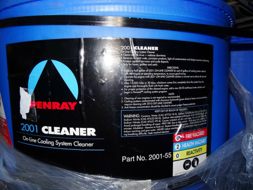 On-Line Diesel Cooling System Cleaner - Penray  2001 - 55 Gal Drum
