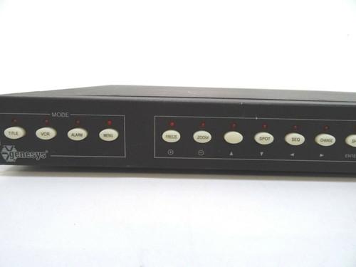 Vicon Genesys V5900MUX 9 Ch CCTV Video Multiplexer 5V DC 5A 60Hz