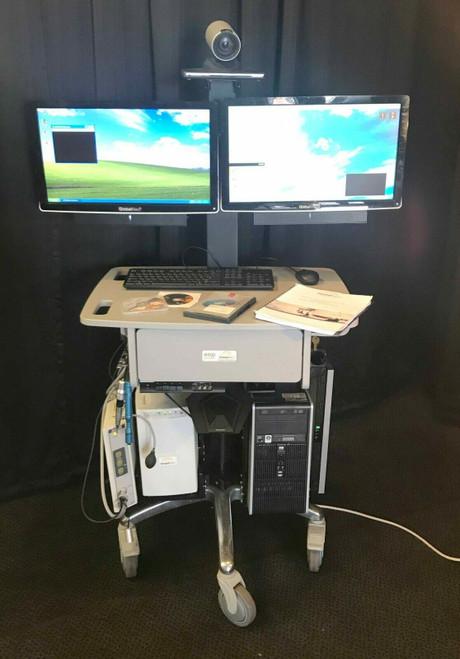 GlobalMed i8500 Telecommunication & Diagnostic Station - Teleconference - WORKS
