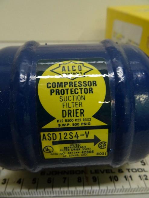 """Alco Controls ASD 12S4-V Suction Line Filter-Drier 1/2"""" ODF-5/8"""" ODM"""
