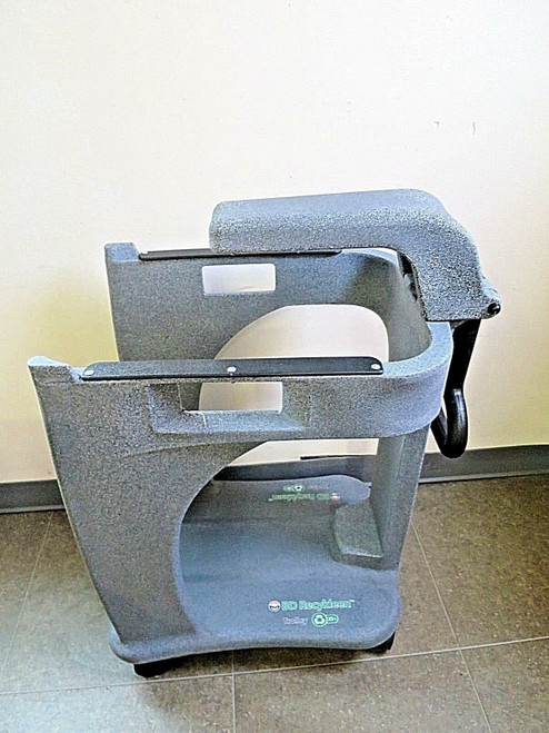 BD Recykleen Trolley Cart for 19 Gal Sharps Containers