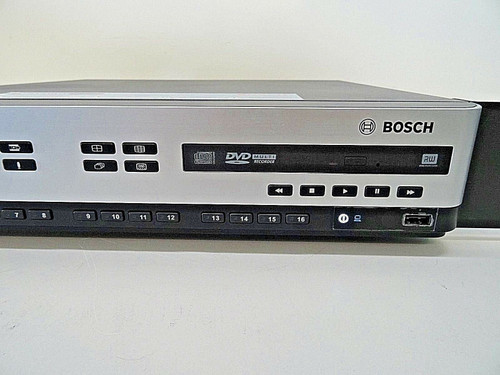 Bosch Video Recorded 600 Series DVR 650-16A 2TB With Manual,Remote, & Power Cord