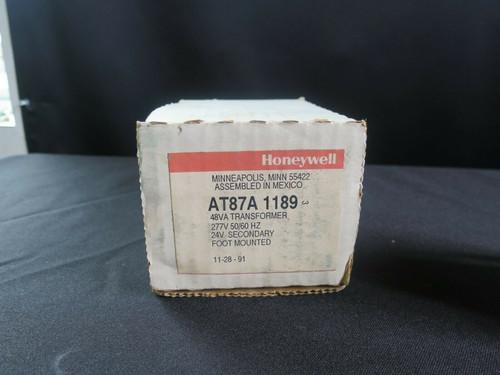 HONEYWELL AT87A-1189 AT87A1189, Transformer, 277-24V, 48VA, Foot Mounted