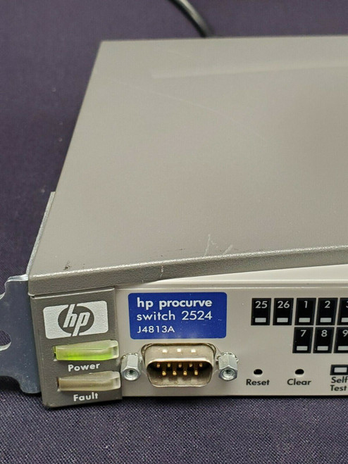 HP ProCurve J4813A 2524 24-Port Managed Ethernet 10/100 Switch