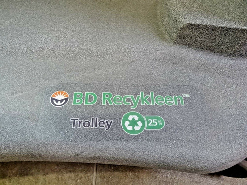 BD Recykleen Trolley Cart for 9 Gallon Containers