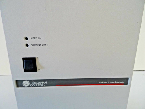 Beckman Coulter - LIF 488 NM Laser Module-Powers On, Not tested