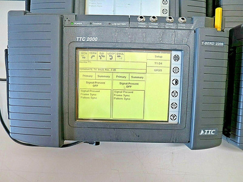 TTC 2000 Test Pad T-Berd 2209 Communication Analyzer Modules