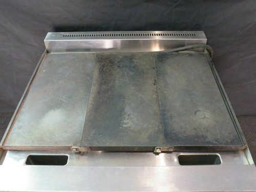 "Commercial 36"" Electric Hot Top Convection Oven Range"