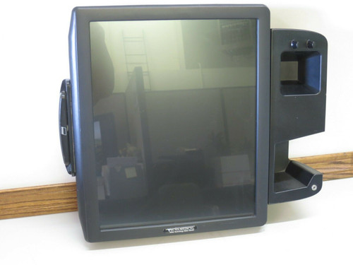 Vecna Medical Touchscreen Kiosk w Bar Code Reader & Card Swipe PARTS ONLY