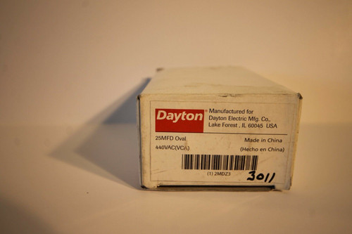 Dayton 25 MFD Run Capacitor
