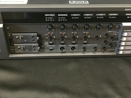 Digital Powered Rack Mixer Sony SRP-X500P ** WORKING ** USED