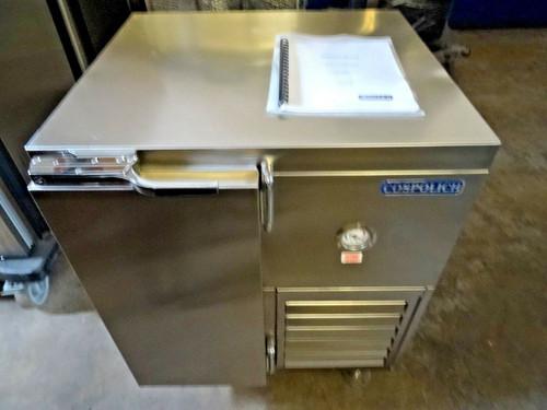 School Milk Storage Refrigerator  Cospolich MS2-2M-SNM