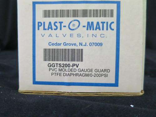 Plast-O-Matic GGTS200-PV Pressure Gauge