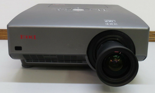 Projector With Wide Angle Lens - Eiki EIP-5000 DLP  5200 Lumens