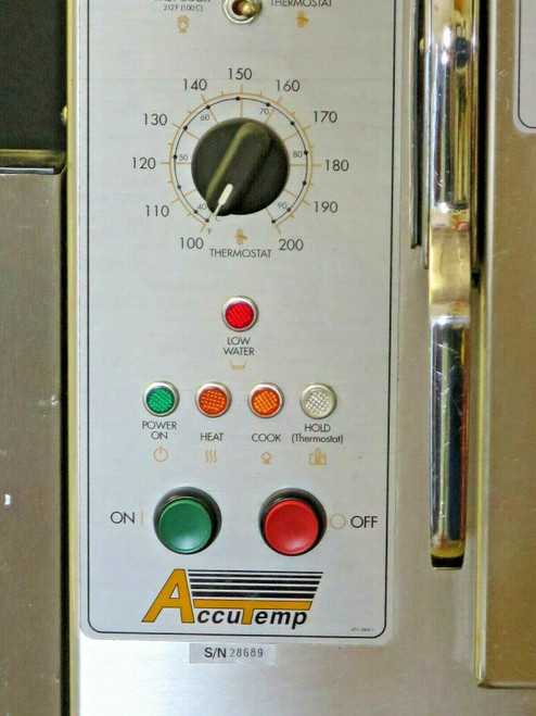 Accutemp Steam N Hold 6-Pan Boilerless Convection Steamer Oven 208V 3Ph #2