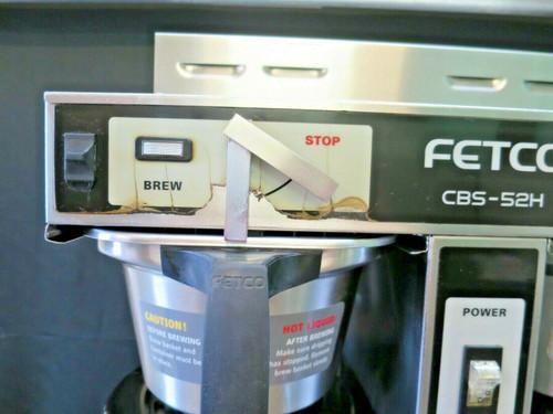 Fetco  Twin 1.5 Gal. High Volume Thermal Coffee Brewer #3