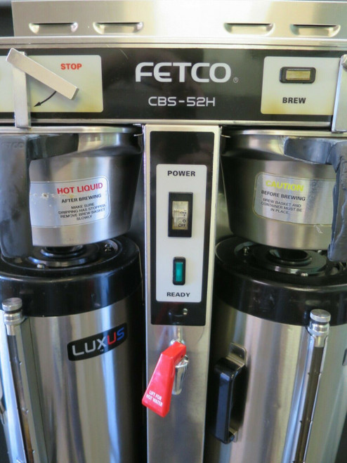 Fetco  Twin 1.5 Gal. High Volume Thermal Coffee Brewer #4