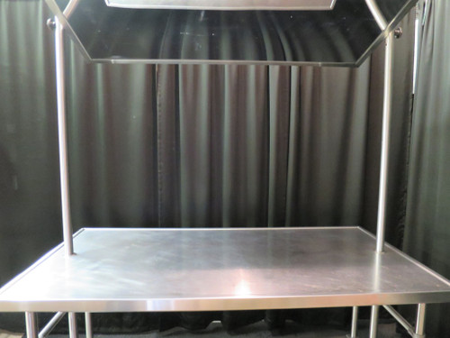 """72"""" Demo Table with Mirror Eagle Group DT3672SE"""