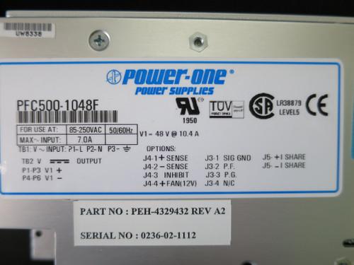 Power One PFC500-1048F Power Supply