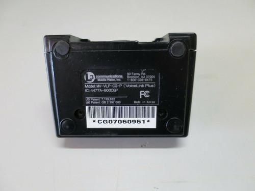 L3 Communications MV-VLP-CG VoiceLink Plus Charging Base (no power cord)