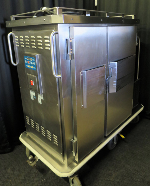 Heated & Refrigerated Meal Tray Delivery Cart  Piper Products