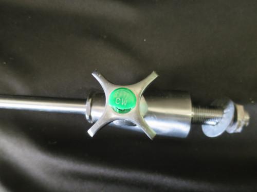 "6"" Rigid Gooseneck Lefthand Cold Water WaterSaver Faucet Co L-100 w 5"" Aspirator"