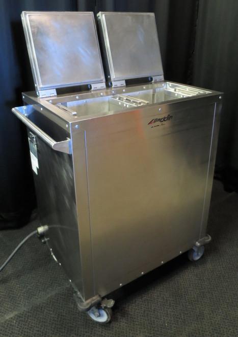 Aladdin Temp-Rite Mobile Heated Plate Dispenser DH07