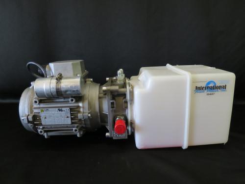 1 HP Single Phase Asynchronous Hydraulic Power Unit w/ 1 gallon reserve
