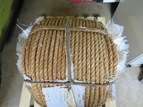 "Industrial Heavy Duty Twisted Manila Rope 3/4"" 1200Ft"