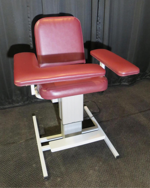 Electric Powered Blood Draw Chair Custom Comfort 1202-LU/AP