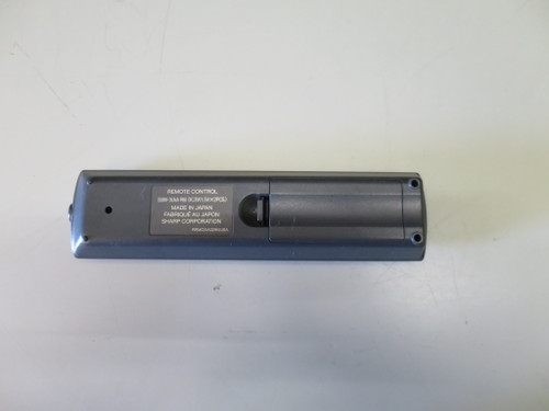 Used Sharp RRMCGA029WJSA Projector Remote