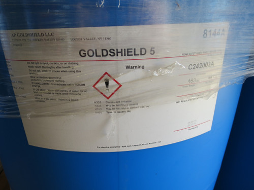 Goldshield 5 GS5 Antimicrobial Protectant  Concentrate 55 Gal.
