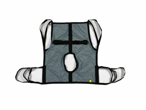 Hoyer One Piece Commode Lift Sling with Positioning Strap, Large, 70056
