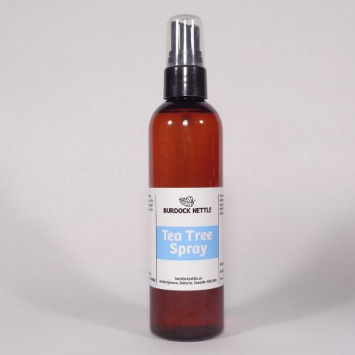 118ml spray bottle of blended tea tree oil