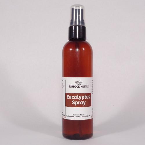 118 ml bottle of Eucalyptus room and body spray