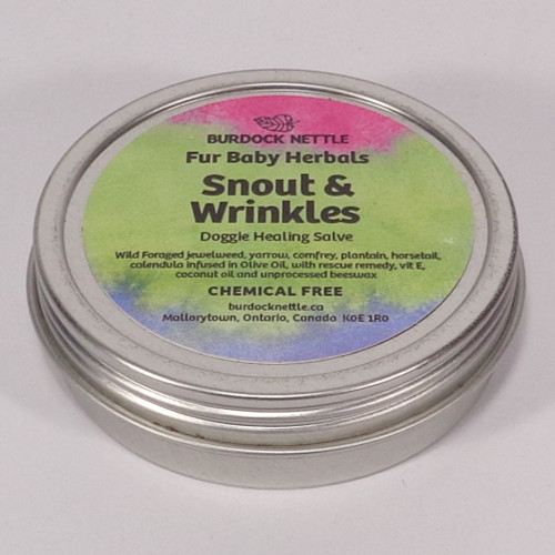 63-gram container all-natural healing salve for dogs