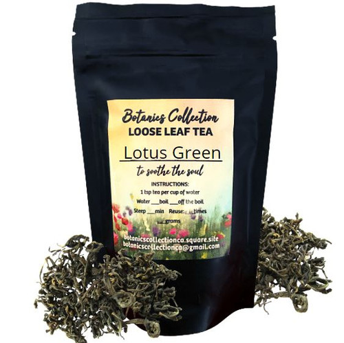 This Lotus tea is made with a green tea from the Northern Vietnamese province of Thai Nguyen. This type of green tea is the perfect base for scenting with lotus flowers as it has a natural sweetness akin to roasted sweet rice and a smooth structured body.