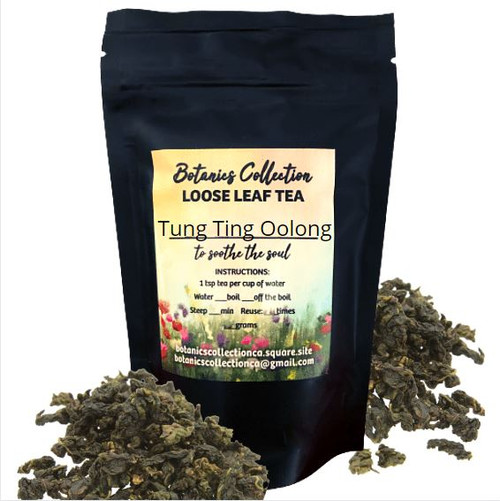This classic tea from the mountains of central Taiwan is sweet, fruity, and floral in layers. This is a mid-oxidized oolong, meaning it is a little darker and slightly toasty. Each infusion goes deeper into ripe fruit.