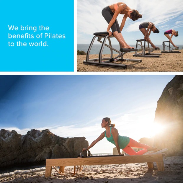 We bring the benfits of Pilates to the world
