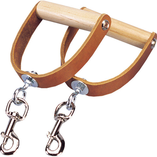 Premium Leather Swivel Handles