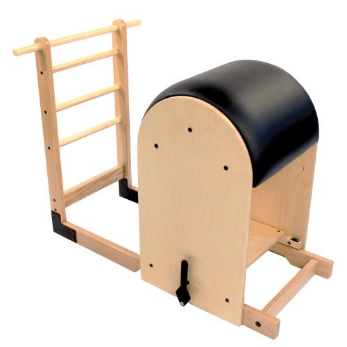 High Ladder Barrel - Baltic Birch Black Upholstery - refurbished