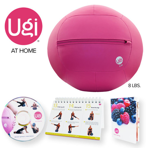 Ugi® Fitness at Home Kit 8lb (Pink) - Refurbished