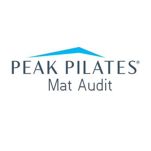 Peak Pilates® Mat Audit