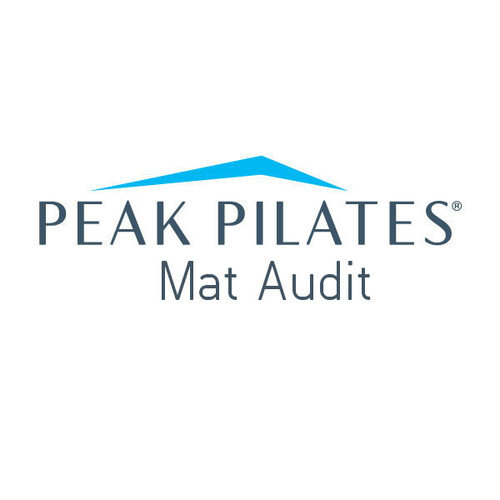 Peak Pilates® Mat Audit