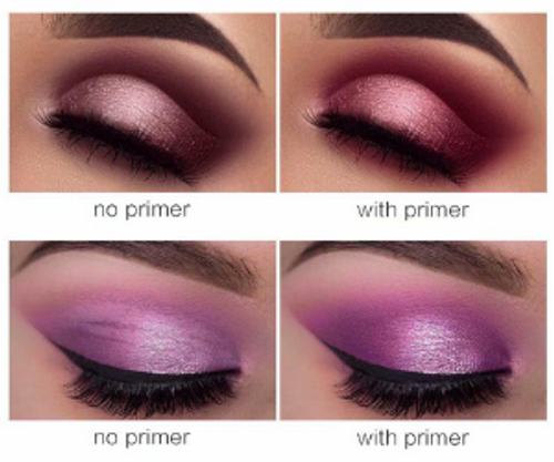 Make sure your eyeshadow is crisp and bright! Our primer works great on eyes and lips.