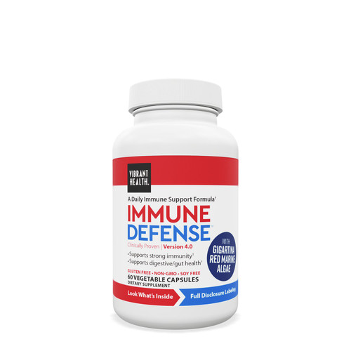 Protection Against Harmful Pathogens.   NEW Immune Defense provides the body with additional immunoglobulins, which are antibodies present within the cells of our digestive tract, that enhance intestinal immunity.  Also available in To-Go Packs! #ShowMeYourID  Supports intestinal immune function Helps protect against harmful pathogens Supports natural immune function, without over activating the immune system